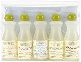 Eucalan Fine Fabric Wash Gift-Pack, 5 Pieces Per Pack, 3.3ounces each Bottle