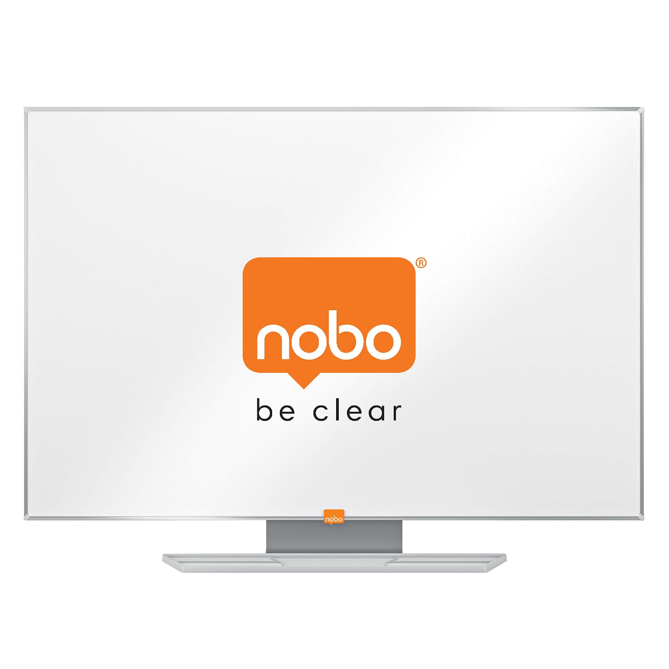 Nobo Classic Pizarra magnética lacada, 900x600mm, Blanco, 1902642 ...