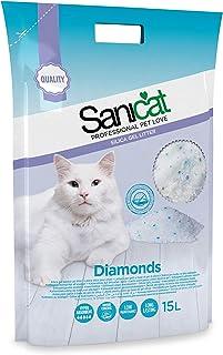 SANICAT Diamonds Lettiera Perle di Gel di Silice Assorbente - 15L