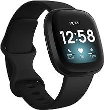 Fitbit Versa 3 – Gesundheits- & Fitness-Smartwatch mit GPS, kontinuierlicher..