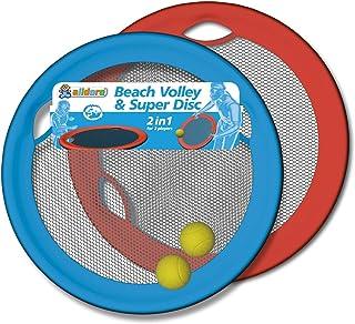 alldoro 60040 Beach Volley & Super Disc, Multi Colour