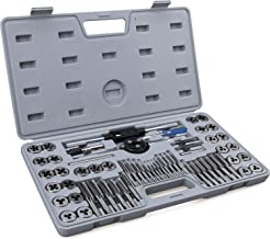 60-Piece Master Tap and Die Set – Include Both SAE Inch and Metric Sizes, Coarse..