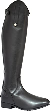 Mark Todd Full Zip Leather Riding Boot