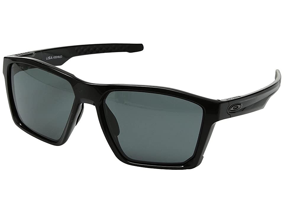 Oakley Targetline (Polished Black w/ Prizm Grey) Athletic Performance Sport Sunglasses