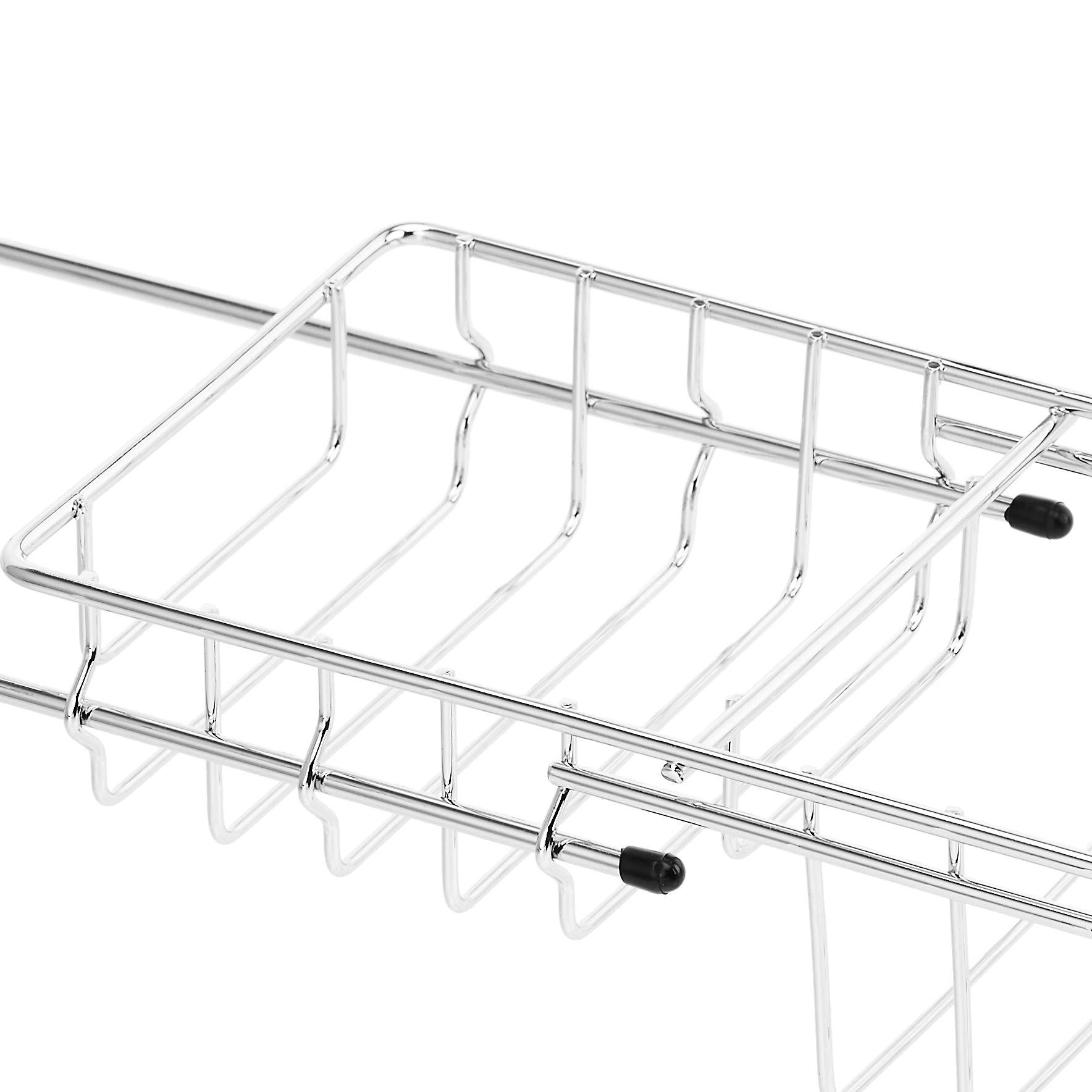 AmazonBasics - Bandeja de alambre de almacenamiento para bañera: Amazon.es: Hogar