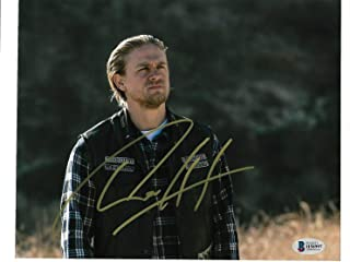Sons Of Anarchy Charlie Hunnam Autographed Signed Memorabilia 8x10 Photo Beckett Bas H58997 Jax