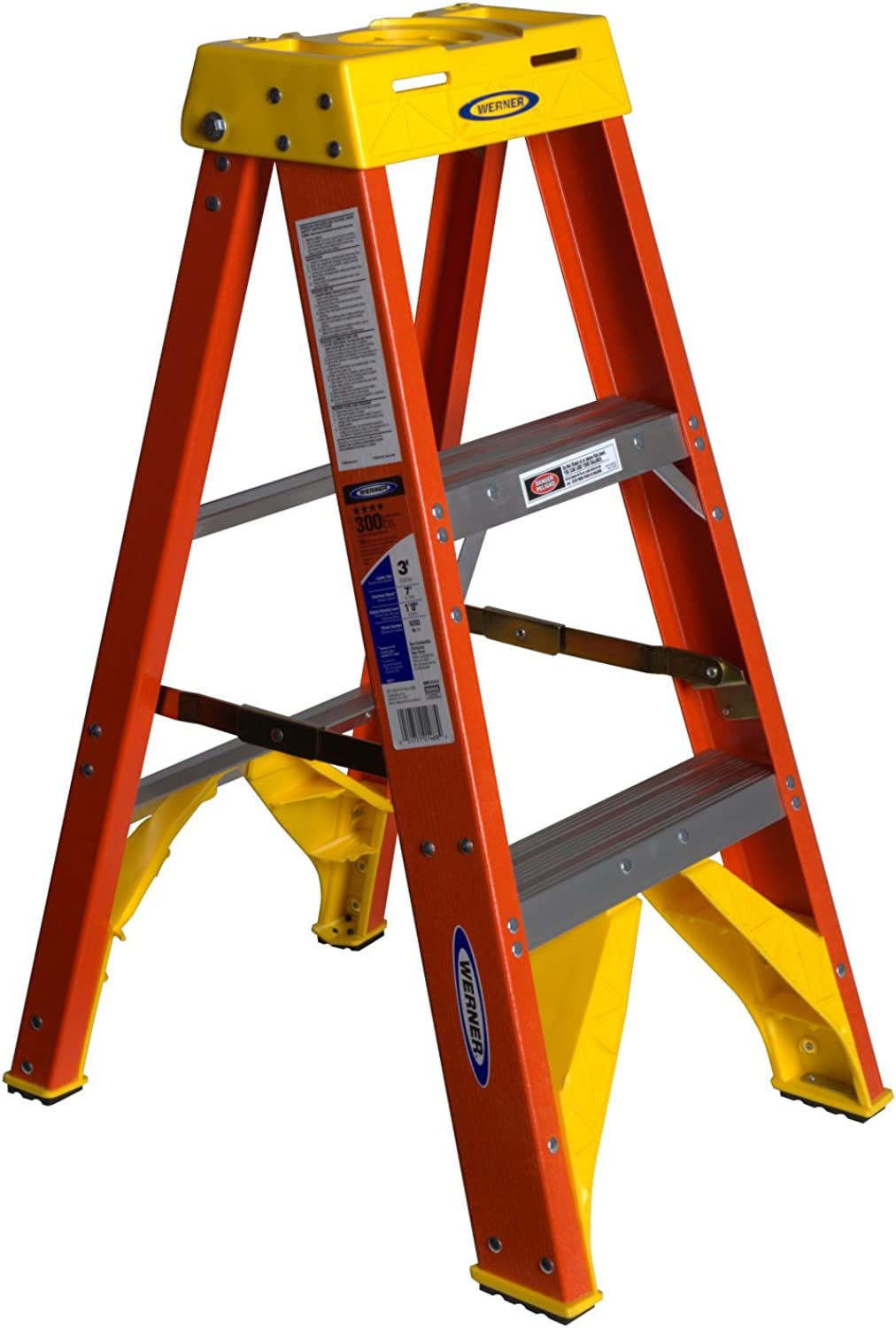 Werner 3-Foot Fiberglass Step Ladder IA