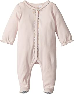 Burberry Kids - Jacey Check Branded One-Piece (Infant)