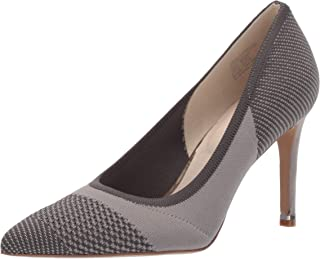 Kenneth Cole New York Womens KLS9056KX Riley 85 Knit Pointed Toe Pump Grey Size: 9.5 US / 9.5 AU