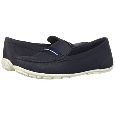 Clarks Dameo Vine (Navy Leather) Women