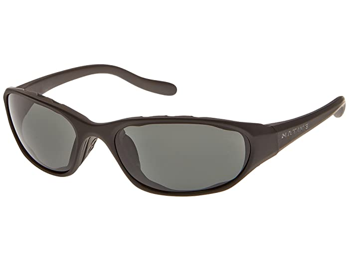 Native Eyewear Throttletm (Asphalt/Gray Lens) Sport Sunglasses