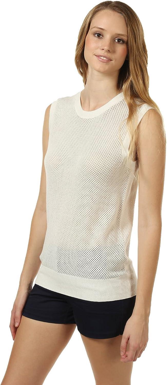 Fhn Love Women's Open-Knit Sweater Vest