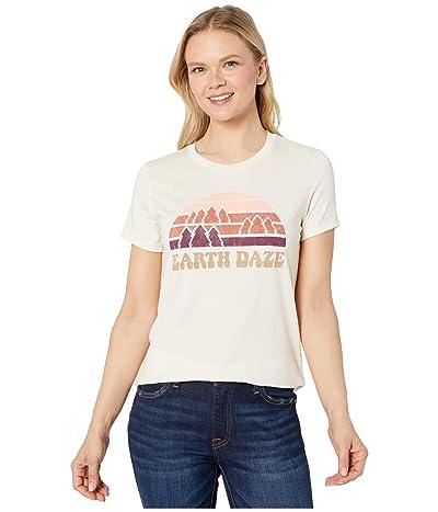 tentree Earth Daze Classic T-Shirt (Elm White Heather) Women