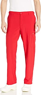 Carhartt Big Men's Flat Front Cargo Pant, Red, 3-X-Large/Tall