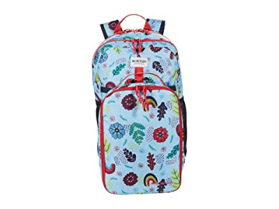 Burton Kids Lunch-N-Pack 35L Backpack (Little Kids/Big Kids) (Embroidered Floral Print) Backpack Bags