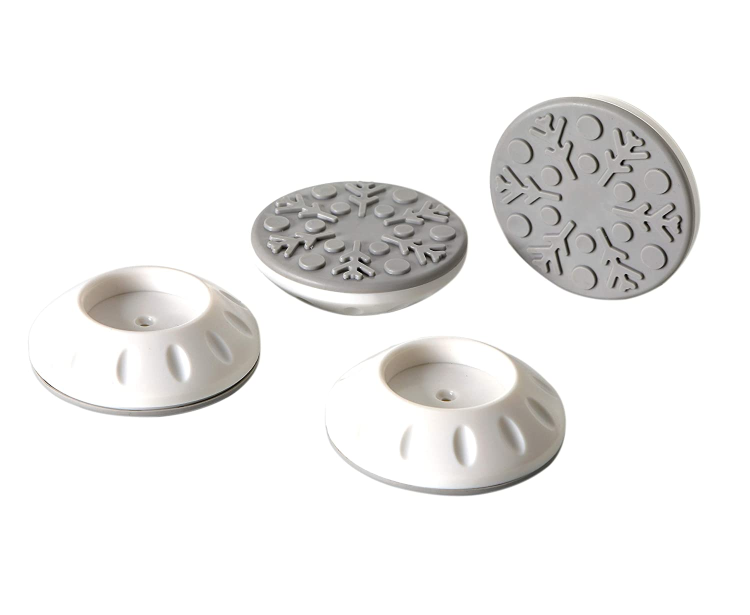 G Ganen Baby Gate Wall Protector - Protect Walls & Doorways from Pet & Dog Gates-4 Pack Wall Cups White