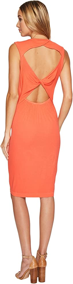 Knot Back Tank Dress