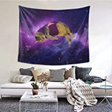 Hazhisha Funny Cat Wall Hanging Tapestry Art Home Decorations for Living Room Bedroom Dorm Decor in 60 X 51 Inches