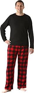 #followme Polar Fleece Pajama Pants Set for Men Sleepwear PJs