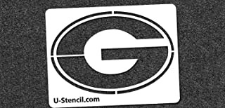 NCAA Georgia Bulldogs 06110 Mini Stencil Craft Kit 11 x 14.5 inches