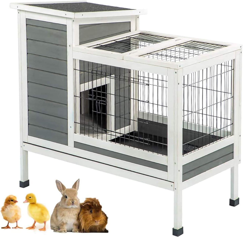 U-MAX Rabbit Hutch online shop Quantity limited Pet House Animals Puniea Small for Pig