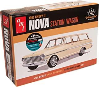 AMT 1963 Chevy II Nova Station Wagon Craftsman Plus Series 1:25 Scale Model Kit