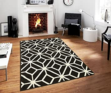 Amazon.com: Contemporary Rugs for Living Room Modern Rugs 5x7