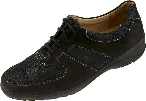 Solidus , Chaussures de Ville à Lacets pour Femme Noir Noir 38 EU