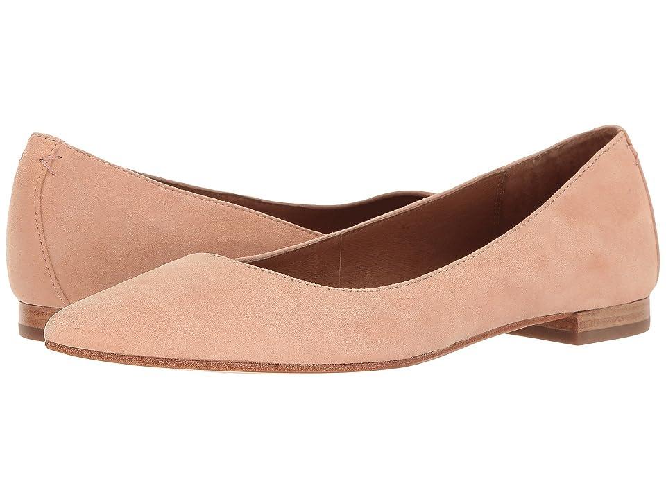 Frye Sienna Ballet (Blush Suede) Women