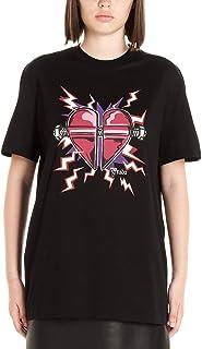PRADA Women's 35838S1611U3FF0D2P Black Cotton T-Shirt