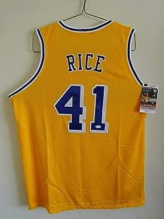 glen rice lakers jersey