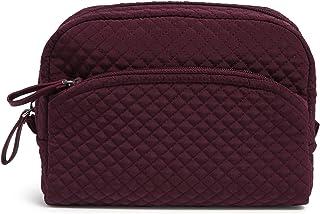 Vera Bradley Women's Microfiber Medium Cosmetic Makeup Organizer Bag