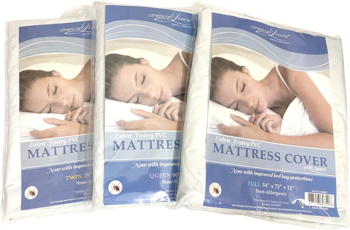 Ranking TOP13 Extra Heavy PVC Award-winning store Mattress Cover Zipper with Improved Now Bed