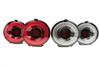 Morimoto XB LED Tail Light Assemblies Compatible with 2005-2013 Chevrolet Corvette C6 (Red)