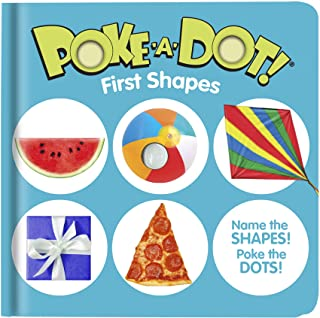 Melissa & Doug 41357 Poke-a-Dot First Shapes | Activity Books | 3+ | Gift for Boy or Girl