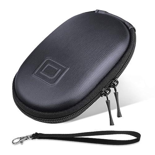 ProCase Apple Magic Mouse Case Organisateur de sac, Portable Hard Shell EVA étui de transport de poche de protection pour Macbook Magic Mouse 2 1 et Logitech Notebook Mouse -Noir