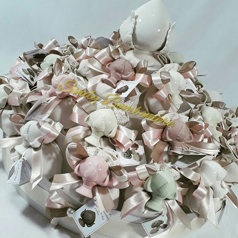ahorra hasta un 70% Bombonera fabricada con bolsas de de de algodón con Piña de cerámica para Confirmación y Comunión  se descuenta