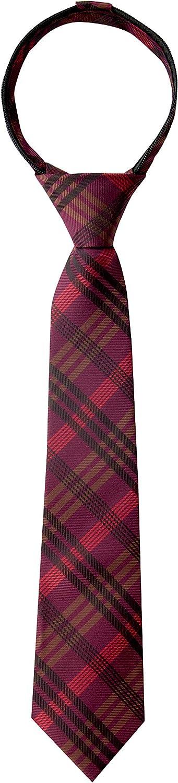 Spring Notion High quality new Boy's Plaid Phoenix Mall Tie Zipper Woven