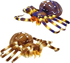 Adventure Planet Plush - SPIDERS (Set of 2 different - Blue & Brown) ( 8 inch )
