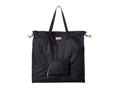 Hunter Original Packable Tote (Black) Handbags