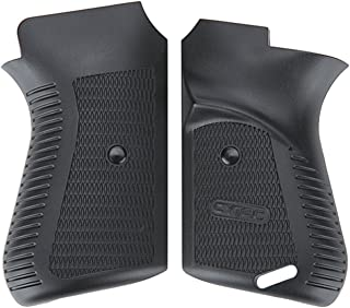 Tactical Scorpion Gear Polymer Grips TSG-T3G01 for TT-33 Tokarev/Norinco 213 Pistol With Safety Lock - Black