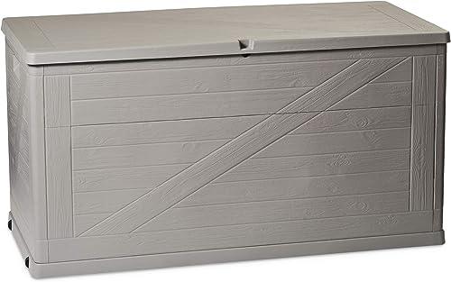 Toomax ART163COL Multibox Coffre de rangement polypropylène Gris/Gris clair 420 L