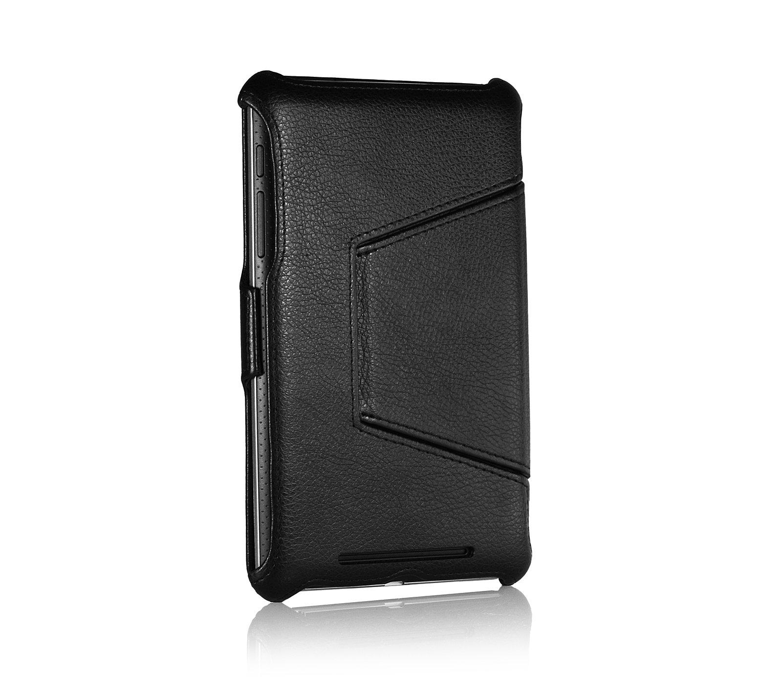 Negro Funda para el Original ASUS VivoTab RTTF600 StilGut UltraSlim Case