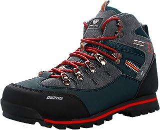 MAIAMY Bottes de randonnée Printemps Hiver en Plein air pour Hommes Formation à Lacets Bottes d'escalade Haut de Gamme Cha...