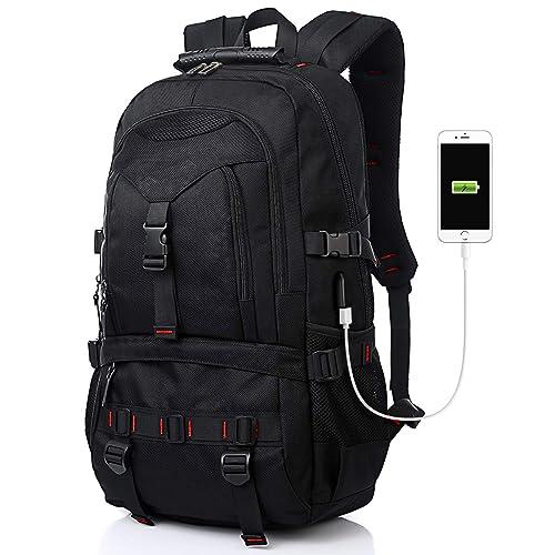 GD-Clothes Men Portable School Backpack-Waterproof Book Backpack Lightweight Laptop Bag for Outdoor,Sport