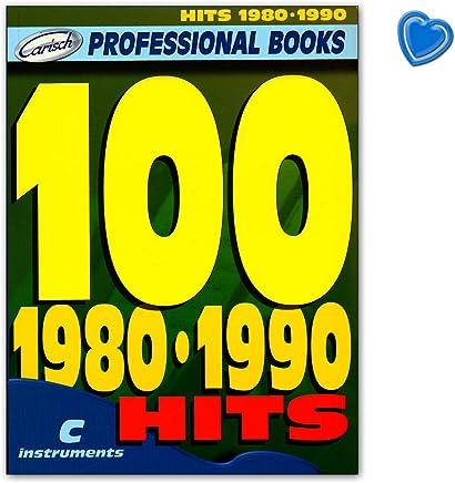 100 Hits 1980 – 1990 para c Melodía Instrumento: Guitarra, Piano, Keyboard –