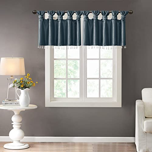 Tab Top Valances for Windows Brown: Amazon com