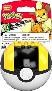 Mega Brands Pokemon Growlithe (Ultra Ball), Multi