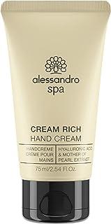Spa Cream Rich - Reichhaltige Anti-Aging Handcreme, bei trockenen und strapazierten Händen, 75 ml