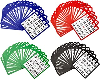 GSE Games & Sports Expert Multi Color Mixed Bingo Cards(100-Pack)